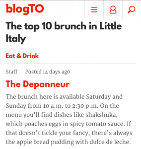blogTO Top 10